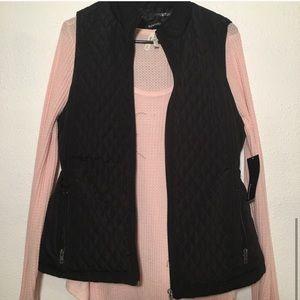 Relativity Jackets & Coats - Black Quilted Vest